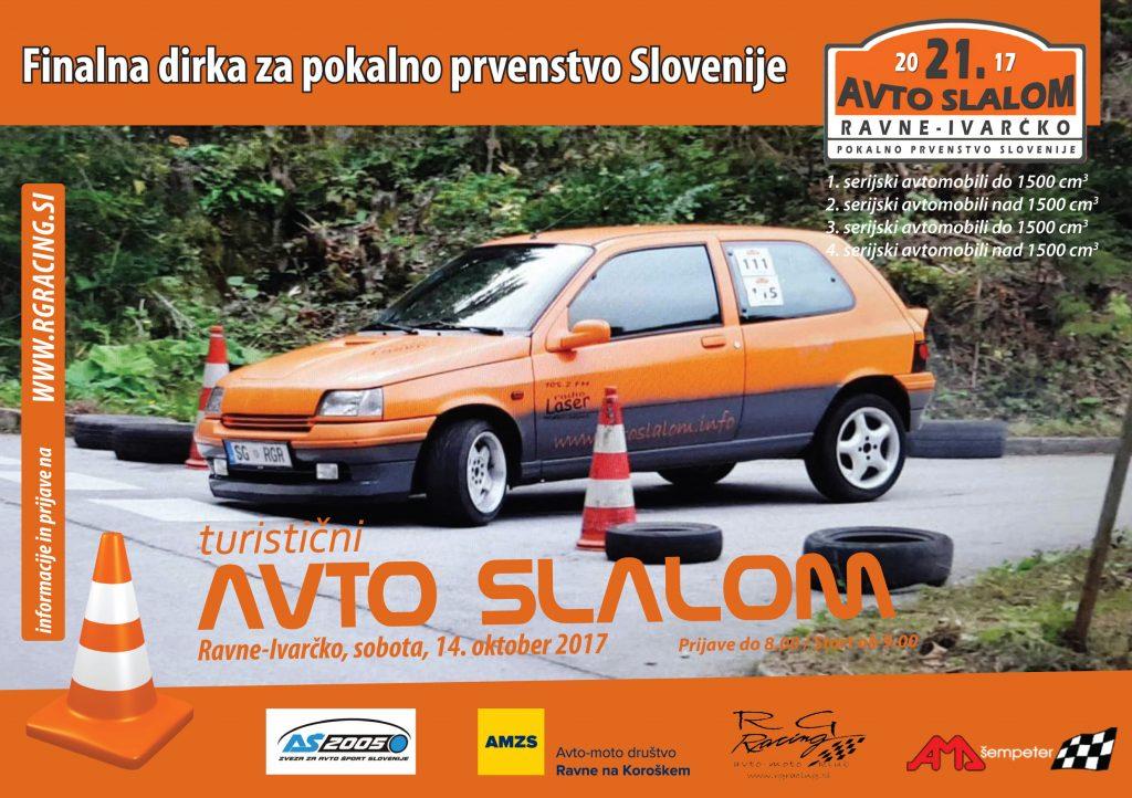 Avto slalom Ivarcko 2017